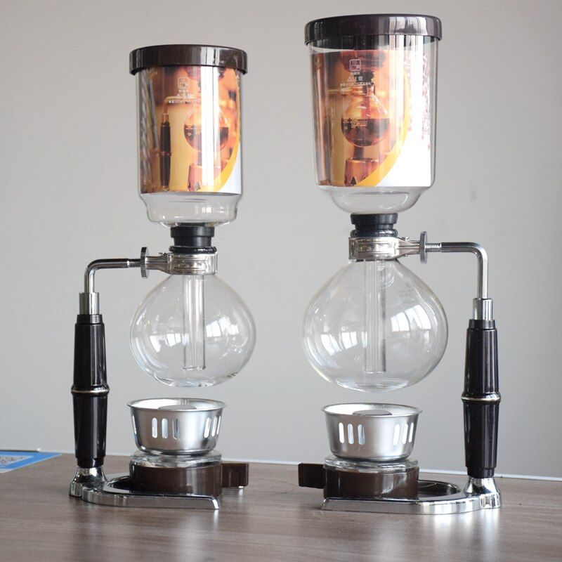 High Quality 5 cups Japan style Siphon coffee maker Syphon maker Tea Siphon pot Tca3 Tca5 500ML