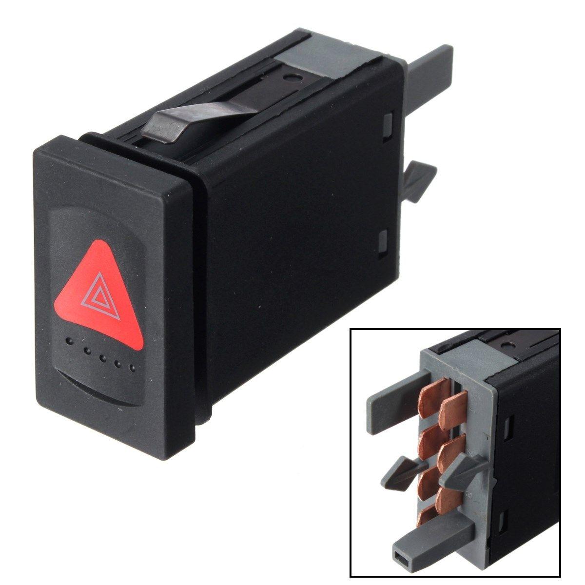 Gefahr Warnung Anzeige Licht Schalter Taste Notfall Schalter Für VW Passat 3B0953235D
