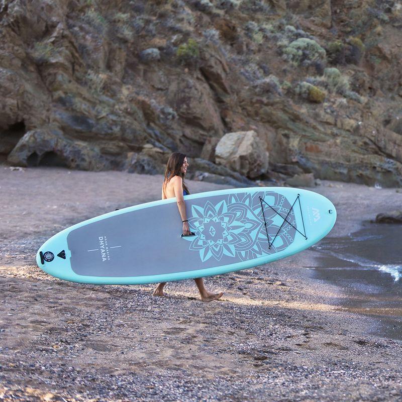 yoga board 336*91*12cm AQUA MARINA DHYANA SUP stand up paddle board yoga surfboard surf board water clubexcercise equipment