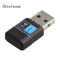 Chielecna 300 Mbps Mini USB Wifi Adaptateur Sans Fil 802.11 B/G/N Carte Réseau LAN Dongle Pour PC ordinateur De Bureau
