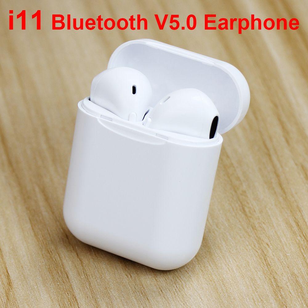 I11TWS écouteurs sans fil Mini écouteur Bluetooth 5.0 écouteurs sans fil Mini écouteurs pour téléphones mobiles écouteurs d'aide à l'oreille