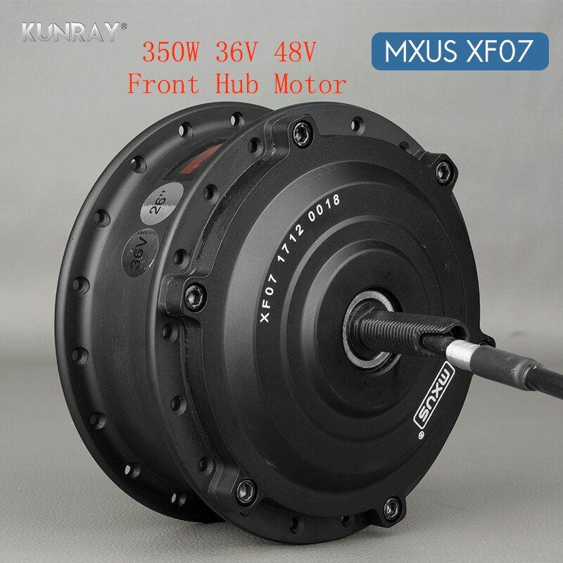 36V 48V 350W Electric Bicycle Brushless Gear Hub Wheel Motor 26 inch - 28inch 700C Bike Conversion Kit Front Wheel Spoke Motors