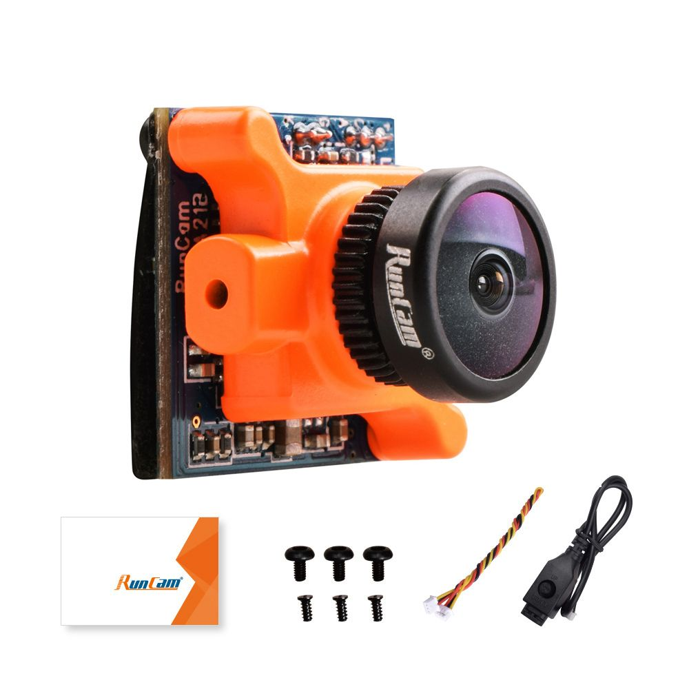 RunCam Micro Sparrow WDR 700TVL 1/3 CMOS 2.1mm FOV 145 Degree 16:9 FPV Action Camera NTSC / PAL Switchable for RC Drone