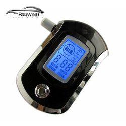 Тестер алкоголя Алкотестер Цифровой дыхание удар анализатор Профессиональный AT6000 портативный алкоголь тестирования BAC содержание