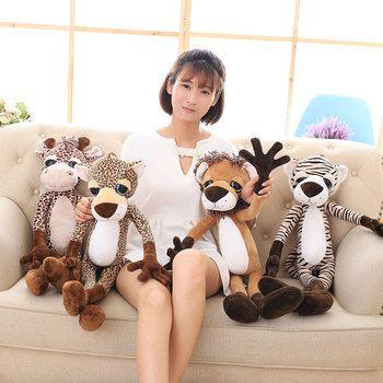 40CM New Lovely Forest Animal PP Cotton Stuffed Plush Toys Cartoon Animals Kids Creative Brinquedos Boys&Girls Birthday Presents