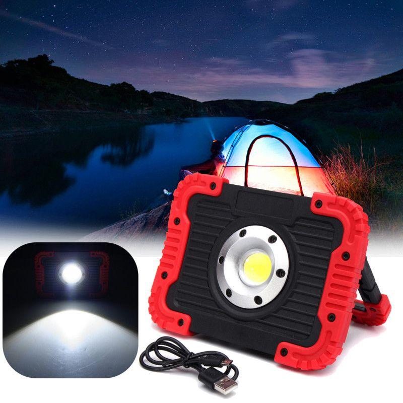 750LM LED Spotlight COB LED Work Floodlight Spot Light USB Rechargeable Handle Flashlight Torch LED Camping Lamp