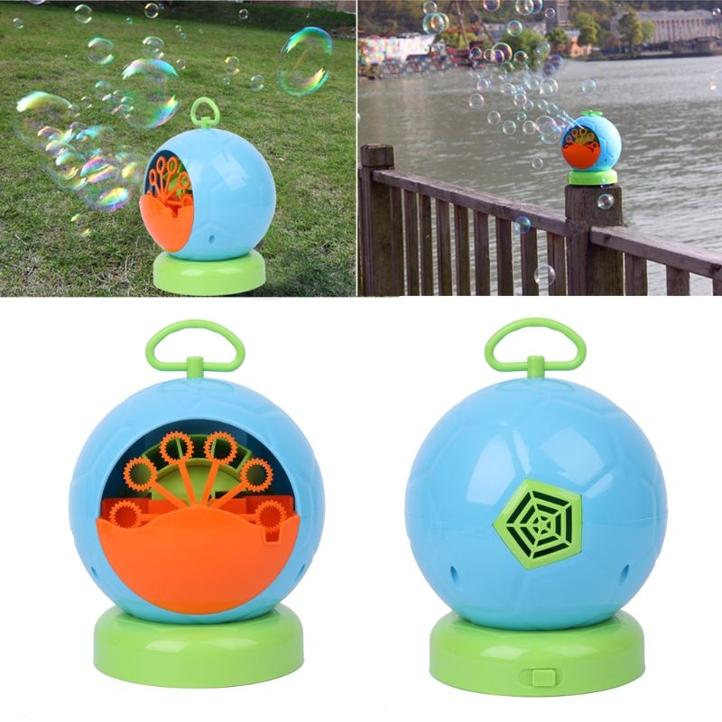 Automatic Bubble Machine Blower Maker Kids Children Indoor Outdoor Parties Toys 328 Promotion %312