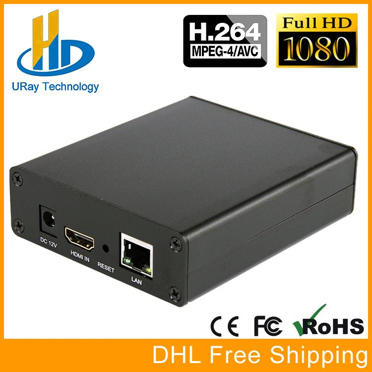 URay Mini HDMI IP Stream Encoder IPTV H 264 Hardware Encoder H264 Cable TV Digital Encoder Support UDP Multicast