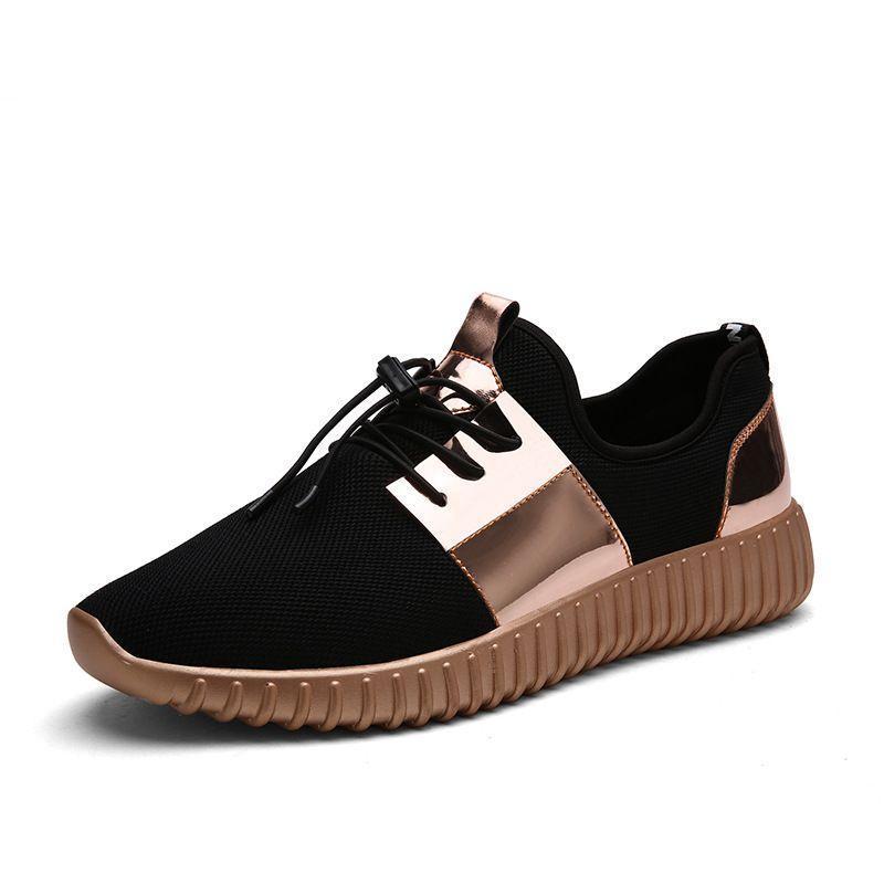 2017 Nueva Moda Hombres Zapatos Casual zapatos planos de los hombres zapatillas de deporte de Malla Transpirable amantes Ocasionales zapatos Tenis feminino Entrenadores zapatos de Los Hombres