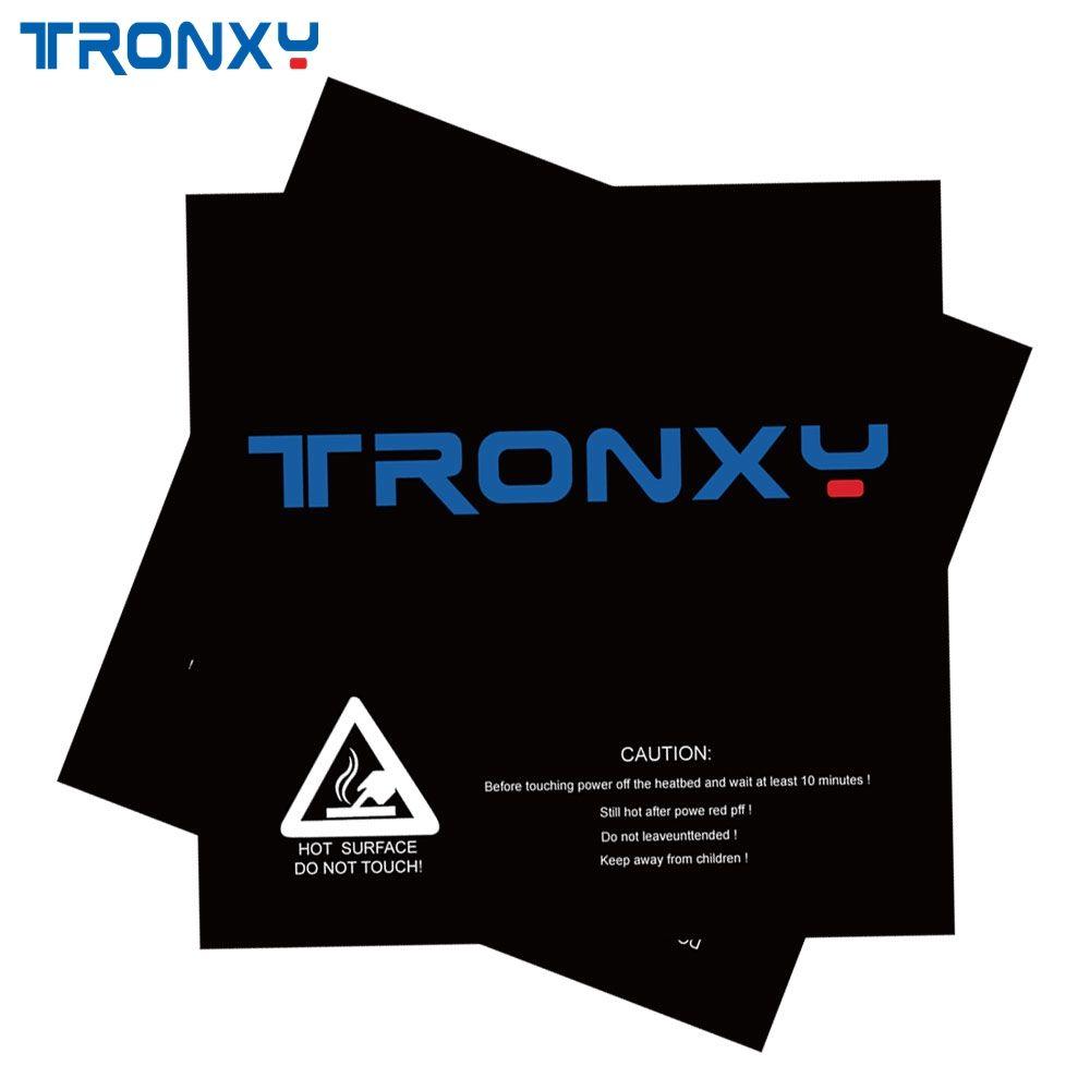 TRONXY 330*330mm 210*200mm Peeling Oberfläche Heißer Bett Aufkleber Heatbed Aufkleber Brutstätte Band Für 3D drucker