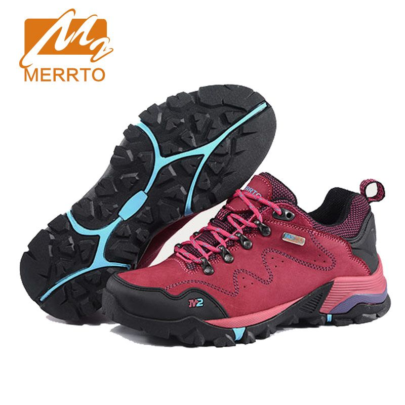 MERRTO Women's Waterproof Walking Shoes Skidproof Design Sneakers  Breathable Shoes Woman Trekking Shoes High Quality #18558