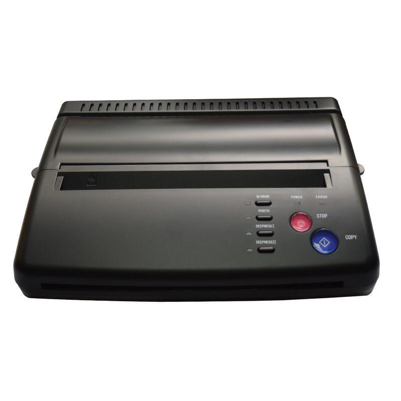 Machine de copie de tatouage Maquiagem prix le plus bas A4 papier de transfert copieur de tatouage noir Machine de transfert de copie de pochoir thermique pour Airst