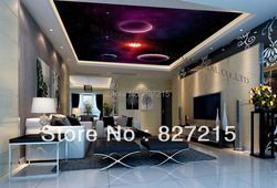 hot seller decoration material u-0526 universal clouds Print stretch ceiling film