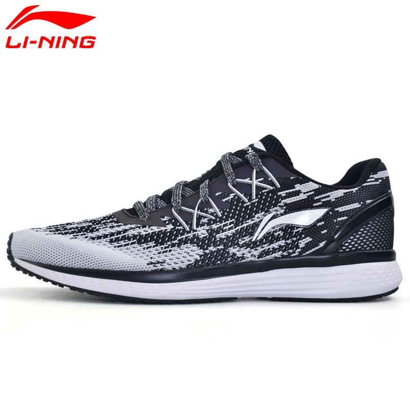 Li Ning herren 2017 Neue Geschwindigkeit Stern Dämpfung Laufschuhe Li Ning Atmungs Textil Turnschuhe Licht Sportschuhe männer ARHM063