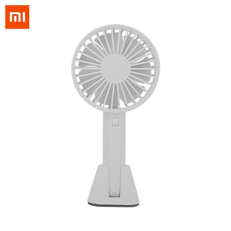 Xiaomi Mijia Original VH ventilateur Portable Portable avec batterie intégrée Rechargeable 1000 mAUSB Port pratique Mini ventilateur pour la maison intelligente