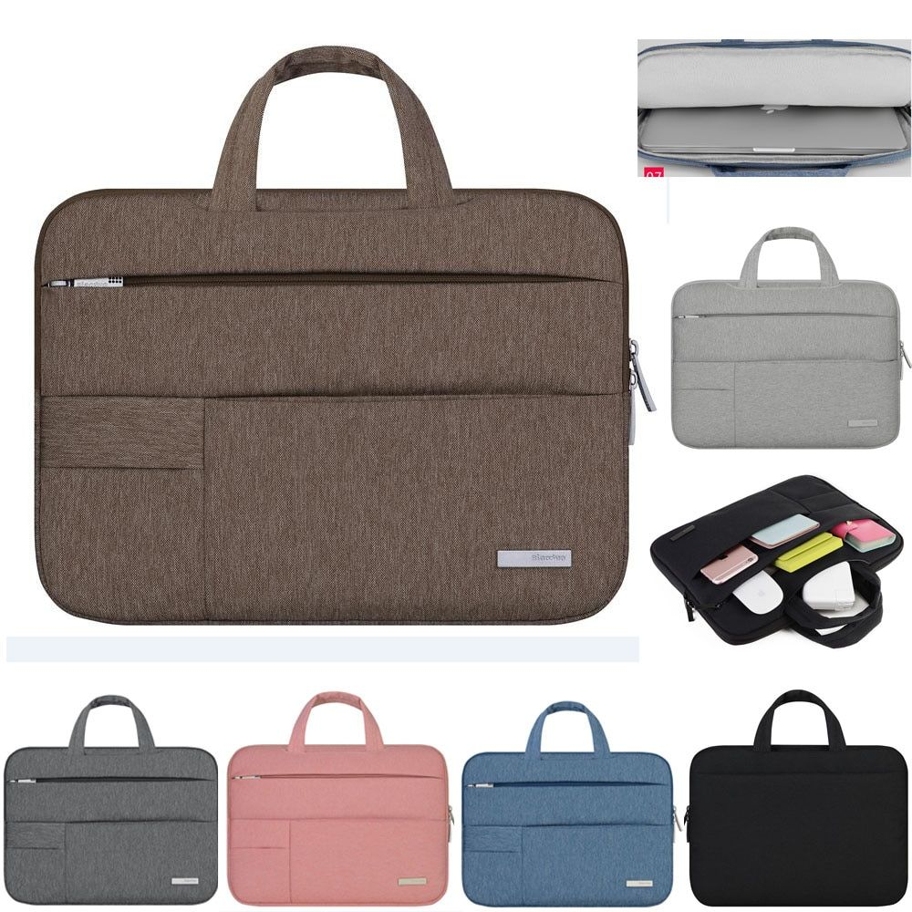 11 12 13 14 15.4 15.6 Homme Sentait Portable Ordinateur Portable Manches Sac Housse Pour Acer Dell HP Asus Lenovo Macbook Pro Reitina Air Xiaomi