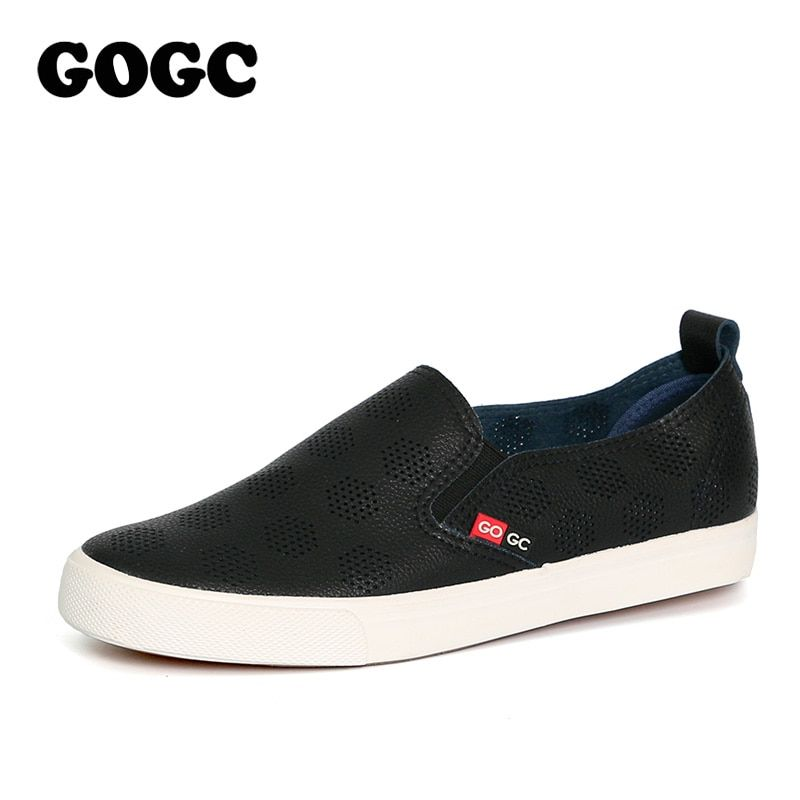 GOGC 2018 New Style Women Shoes with Hole Breathable Women Flat Shoes Net Surface Women Slipony Women Sneakers Summer Autunm