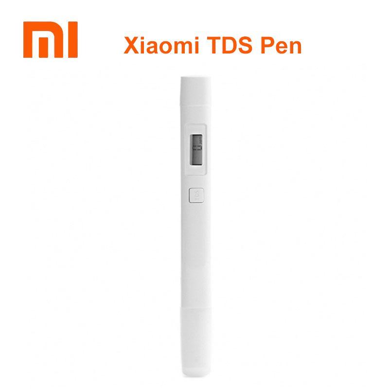 100% Original xiaomi stylo qualité de l'eau testeur de pureté numérique tds compteur tds metr numérique compteur d'eau compteur de concentration