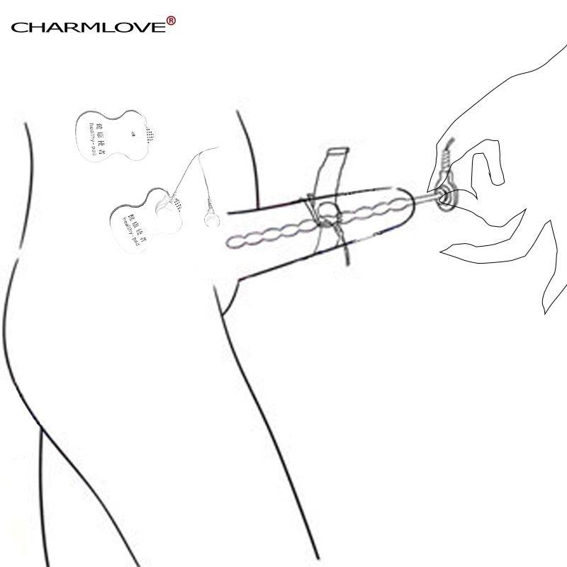 Offre spéciale mise à niveau en acier inoxydable cathéter son urétral électro choc pénis anneaux sur le thème médical des jouets sexuels pour les hommes