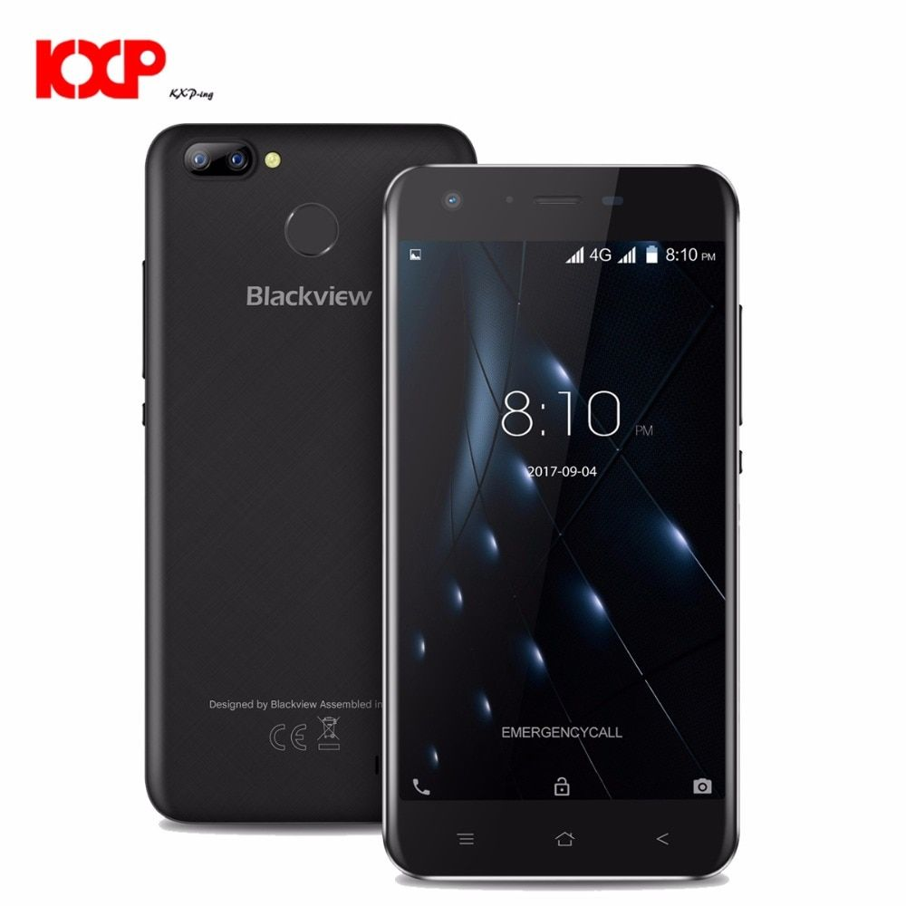 Blackview A7 Pro 4G Smartphone 5.0 inch Android 7.0 MTK6737 Quad Core 1.3GHz 2GB RAM 16GB ROM 8.0MP + 0.3MP Dual Rear Cameras