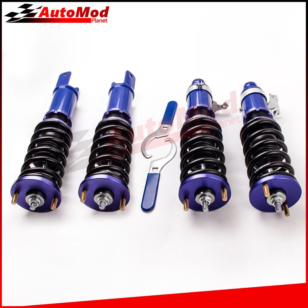 Adj. Height Coilovers Suspension Strut for Honda Civic ED EE EF CR-X Integra DA1 SH CRX Coilovers Suspensions Shock Spring Strut