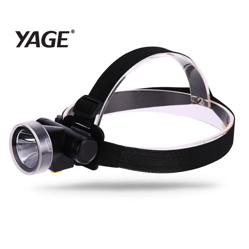 2018 neue YAGE Scheinwerfer Lithium-Wiederaufladbare Tasse Lichter Vorne Kopf Licht LED Kopf Taschenlampe Lintern Wasserdichte kopf taschenlampe Licht