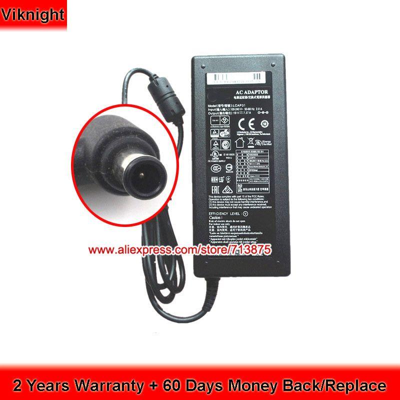 LCAP31 19V 7.37A Ac Adapter for LG 34-Inch Ultra Wide QHD Monitor Power Supply 34UM94 34UC95 34UC97C 34YM95C