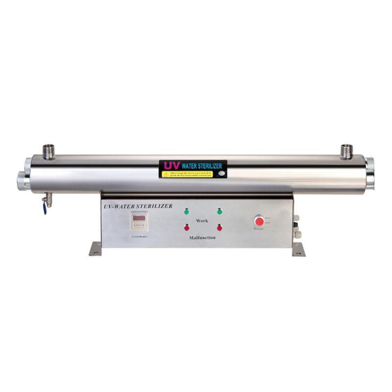 1GPM uv sterilizer 110W 304 Stainless Steel UV Filter