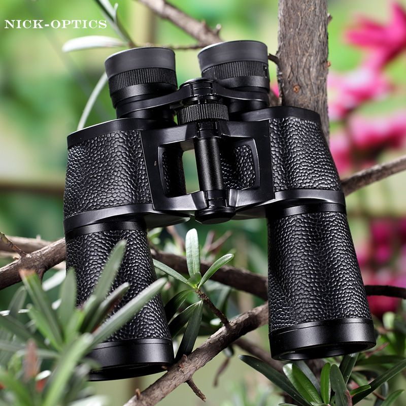 Rouya Powerful Binoculars 10x50 Professional Germany Style Binocular Lll Night Vision Bak4 Hd Telesope High Quality No Infrared
