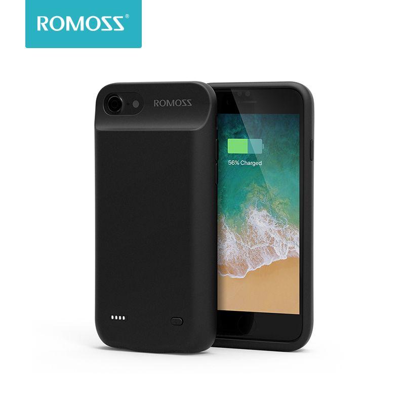 Romoss 5600 mAh Batterie étui pour iphone 7 batterie externe Recharge étui pour iphone 7 Boîtier De Chargeur De Batterie Couverture