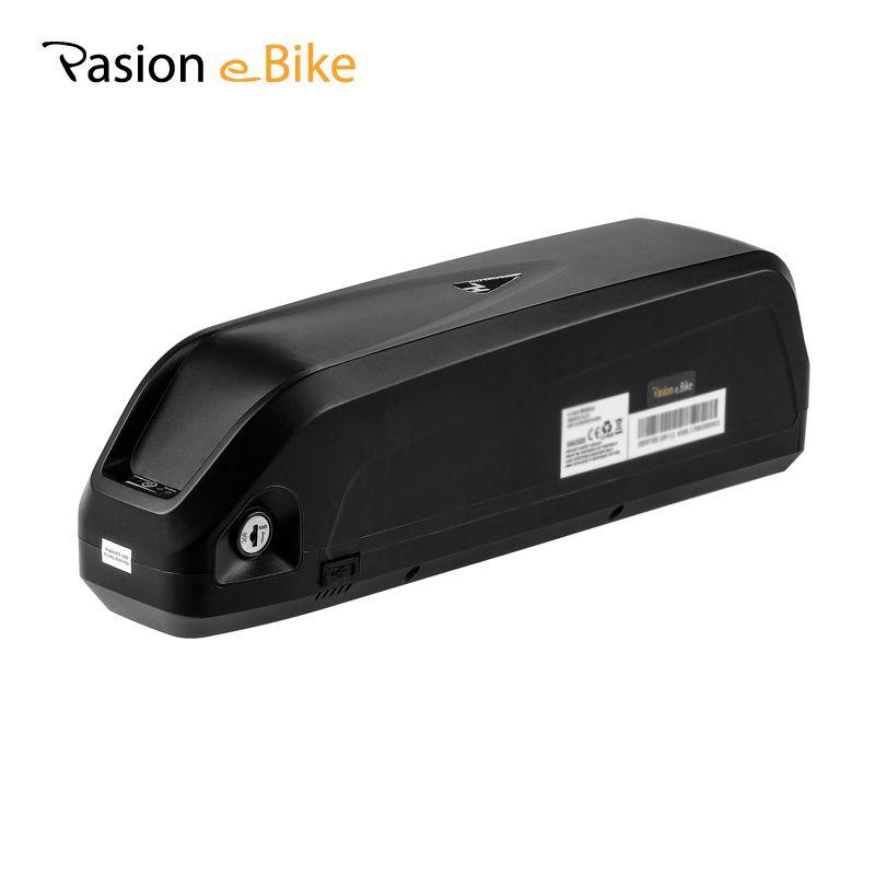 PASION E BIKE 52 v 12.8AH Batterie LG 18650 Zelle Li-Ion Elektrische Fahrrad Batterie HAILONG 52 v Radfahren Lithium-Batterie mit 2A Ladegerät