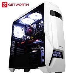 GETWORTH S10 escritorio juegos Intel I5 8400 1060 5g B360M 120g SSD 1 TB HDD 8g RAM PUBG envío ventiladores LED escritorio I5 1060
