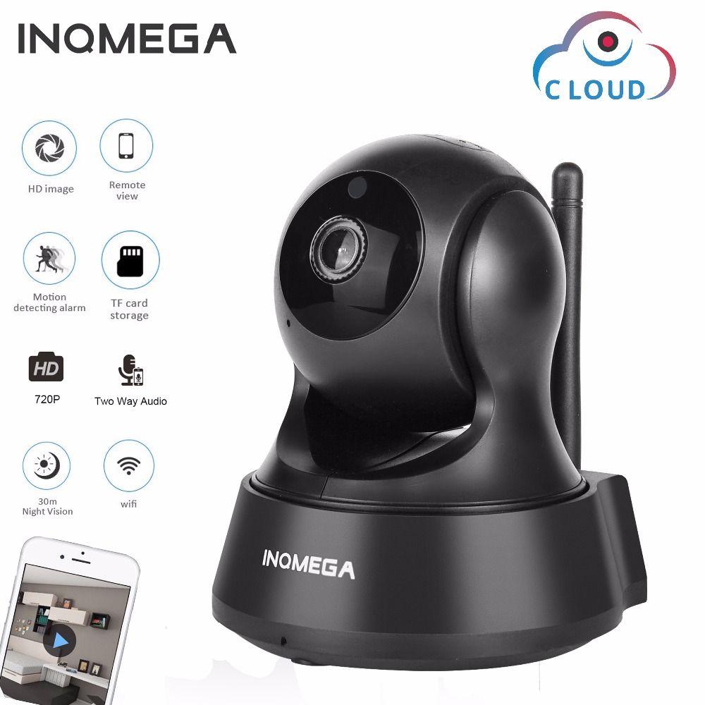 INQMEGA 720P Cloud Storage IP Camera Wireless Wifi Cam Home Security Surveillance CCTV Network Camera Night Vision Baby Monitor