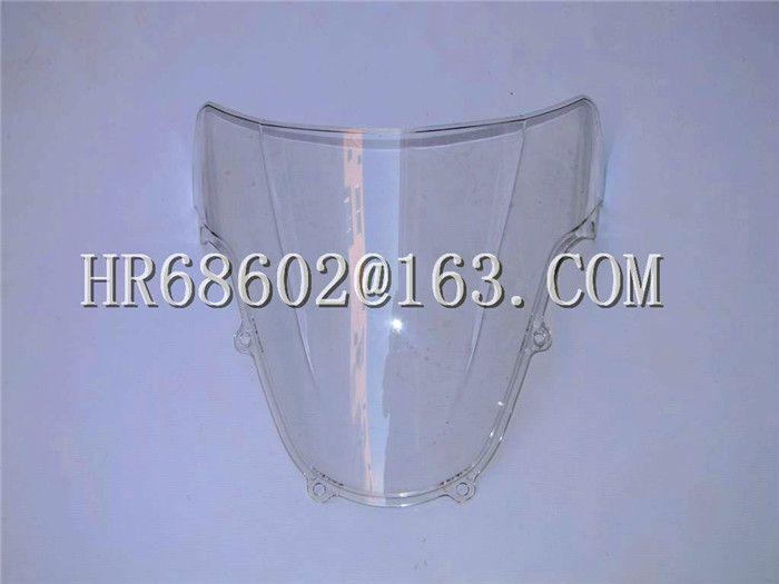 For Suzuki GSXR 1000 600 750 R K1 K2 gsxr 600 750 1000 R k1 k2 2000 2001 2002 00 01 02 White Windshield WindScreen Double Bubble