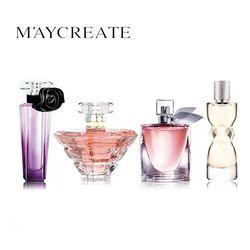 MayCreate 4 Pcs/ensemble Marque D'origine Femmes Parfum Longue Durée Atomiseur De Parfum Bouteille En Verre Dame Fleur Parfum Parfum Parfum