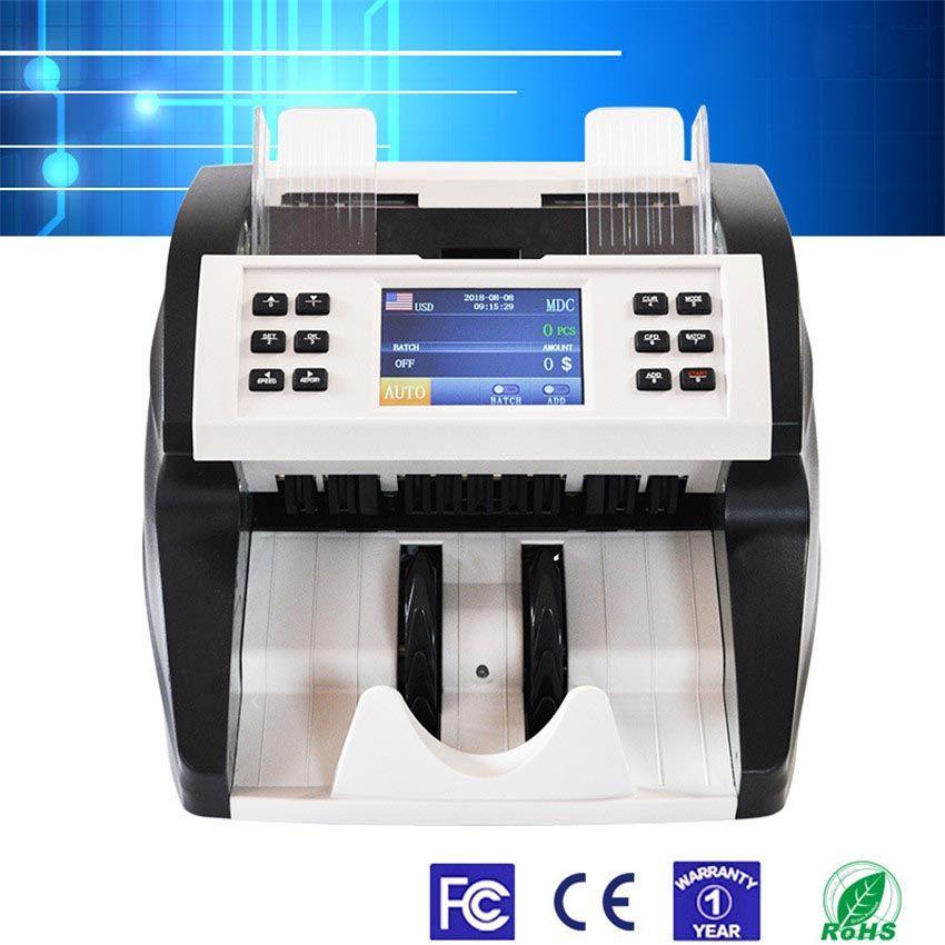 FT-500 Automatische Währung Zähler Maschine Cash Geld Zähler Währung Detektor MDC/SDC/CNT Modell UV MG IR Falschgeld Detektor