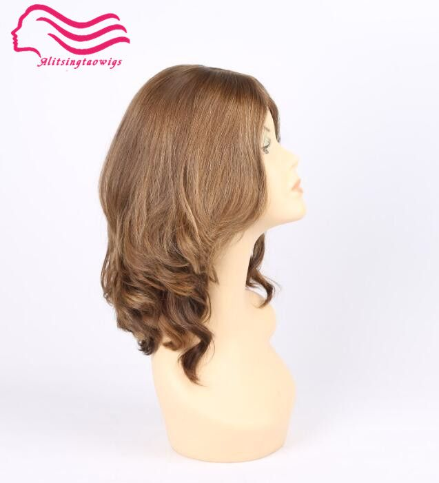 Tsingtaowigs Custom made european virgin hair , unproces jewish wigs , silk top kosher wig Best Sheitels free shipping