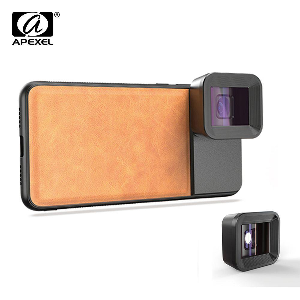 APEXEL Anamorph Objektiv 1.33x Wide Screen Video Widescreen Slr Film Handy Objektiv für iPhone Huawei Samsung smartphones