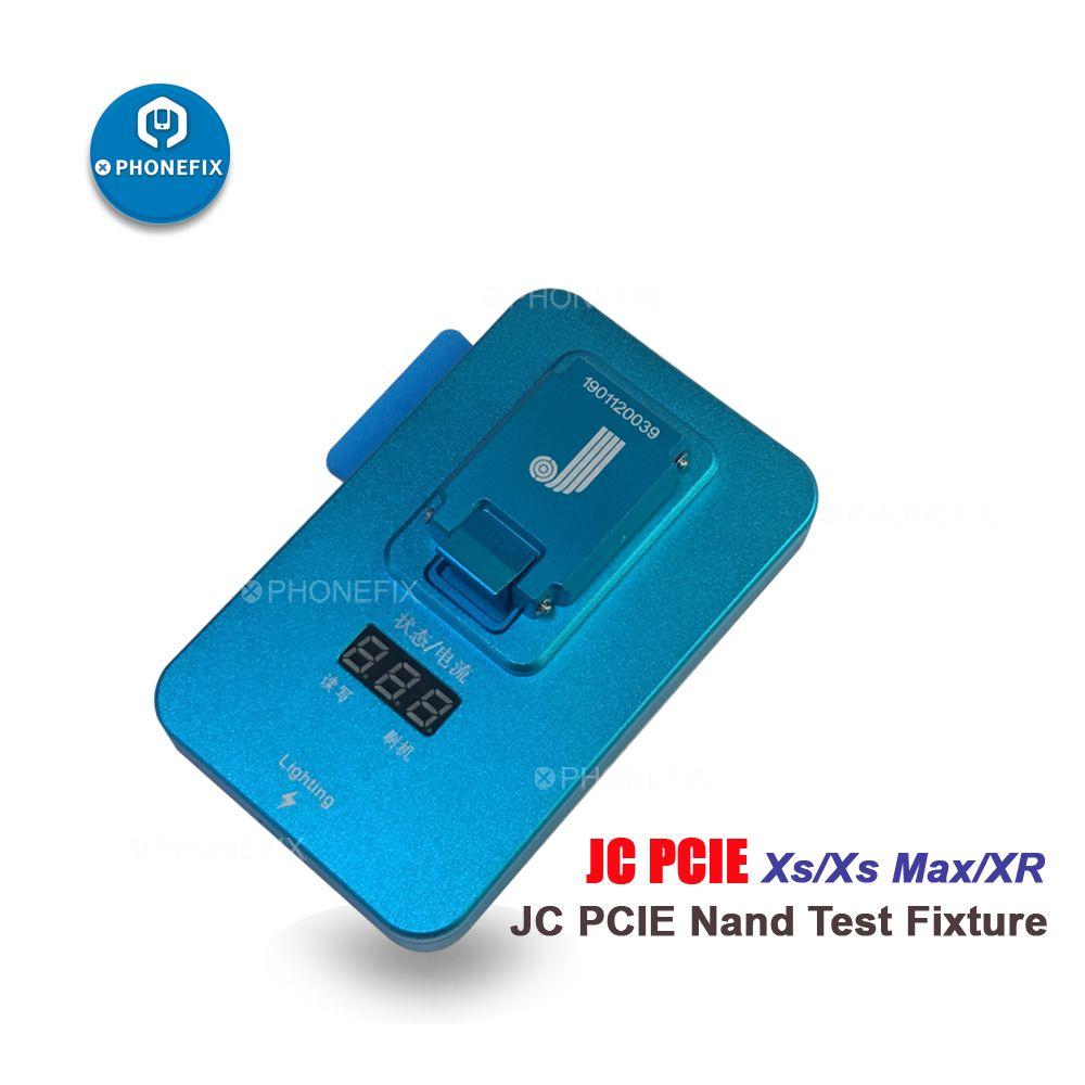PHONEFIX JC PCIE XS NAND Flash Test Leuchte Programmierer Lesen Und Re-schreiben NAND Zugrunde Liegenden Daten Für iPhone Xs xsMax XR Reparatur
