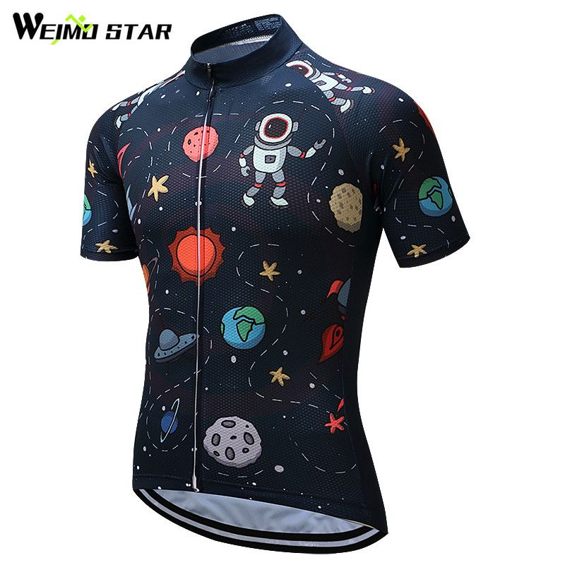 Weimostar Cycling Jersey 2018 Short Sleeve Men Cycling Clothing Breathable mtb <font><b>Bike</b></font> Jersey Bicycle Clothes Ropa Maillot Ciclismo