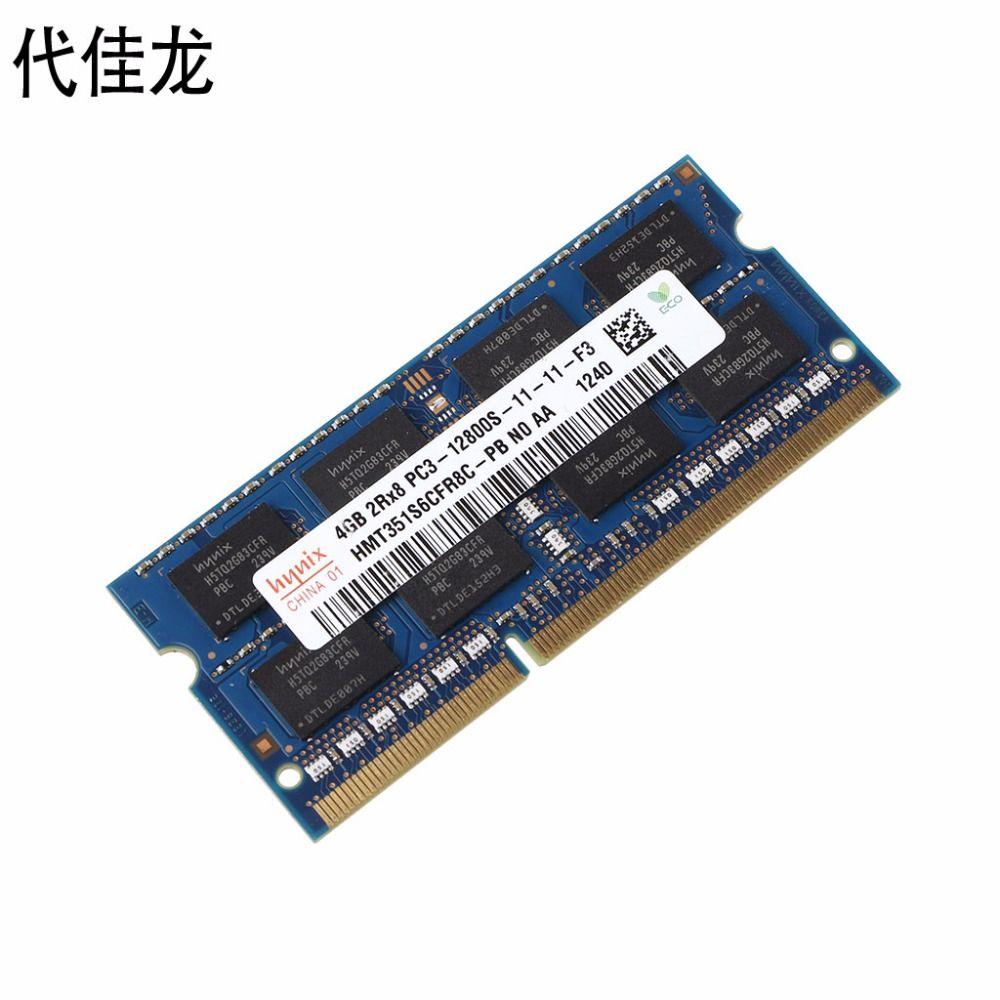 1 STÜCK DDR3 4 GB/2 GB 1600 MHz PC3-12800S Notebook Standard-speicher Laptop RAM 204PIN Für Hynix