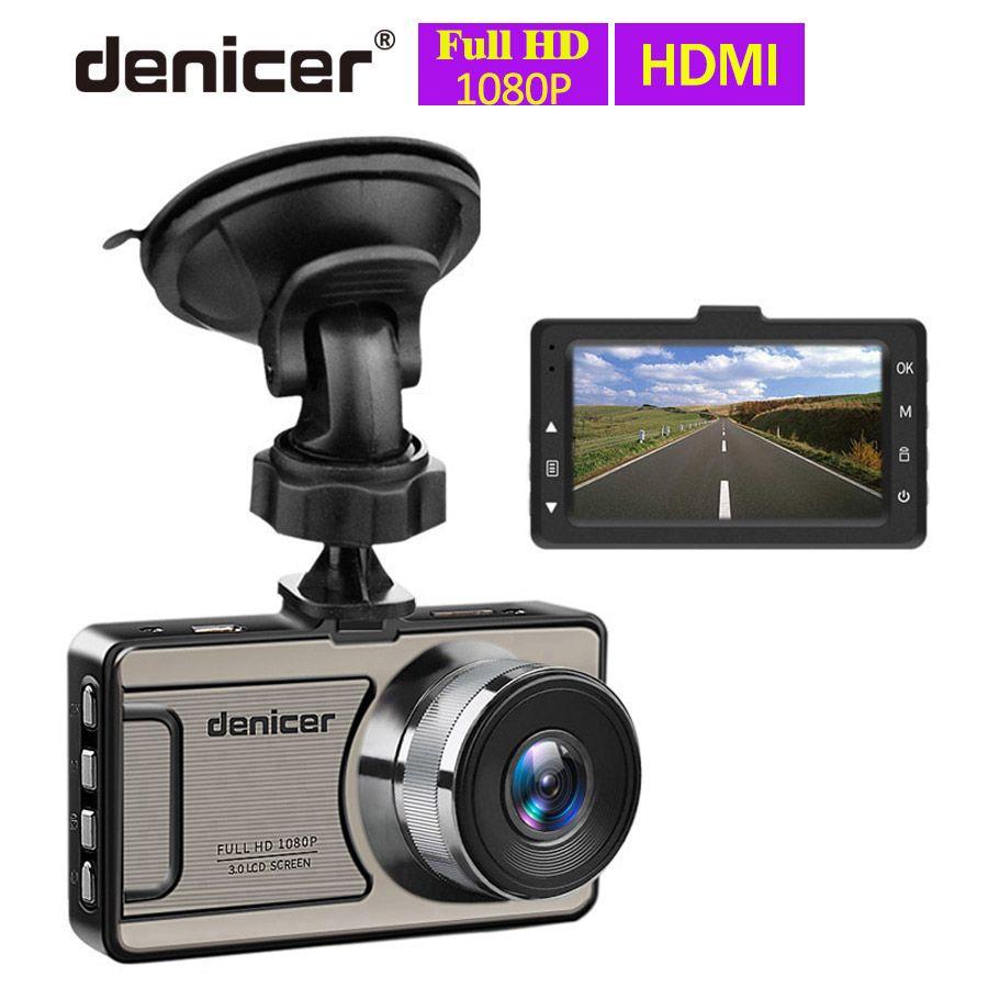 Caméra de voiture Novatek Full HD DVR 1080P caméra de tableau de bord 30 fps enregistreur de voiture vidéo 170 degrés caméra de tableau de bord Vision nocturne enregistreur de voiture