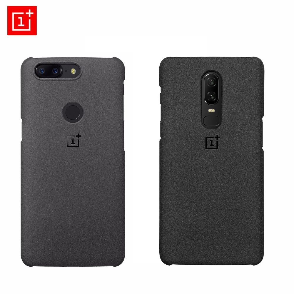 oneplus 5t case original 100% official from oneplus company sanstone protective back cover case oneplus 6
