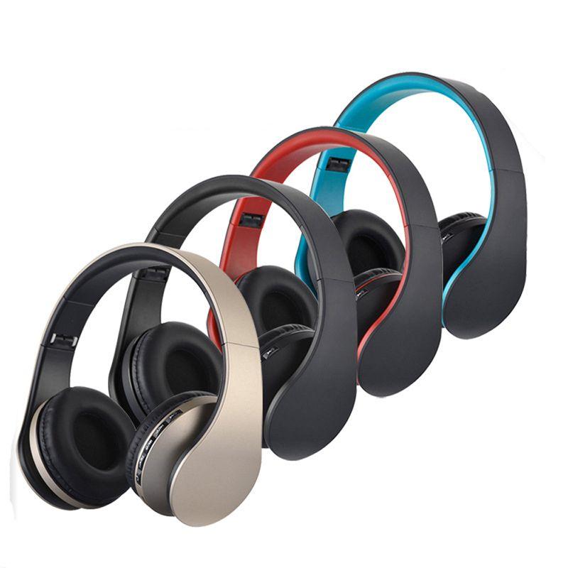 feeya LH-811 HiFi Deep Bass Wireless Stereo Bluetooth Headphone Noise <font><b>Cancelling</b></font> Headset With Mic, Support TF Card, FM Radio