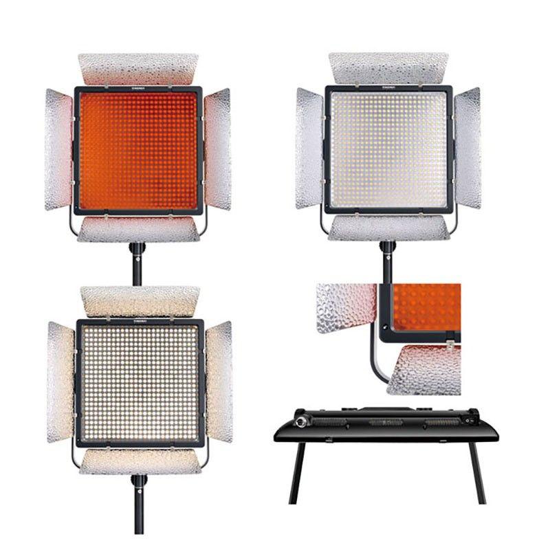 YONGNUO YN900 II 3200K-5500K LED Lighting Equipped U-shaped Bracket 360 degrees fill light for Professional photography