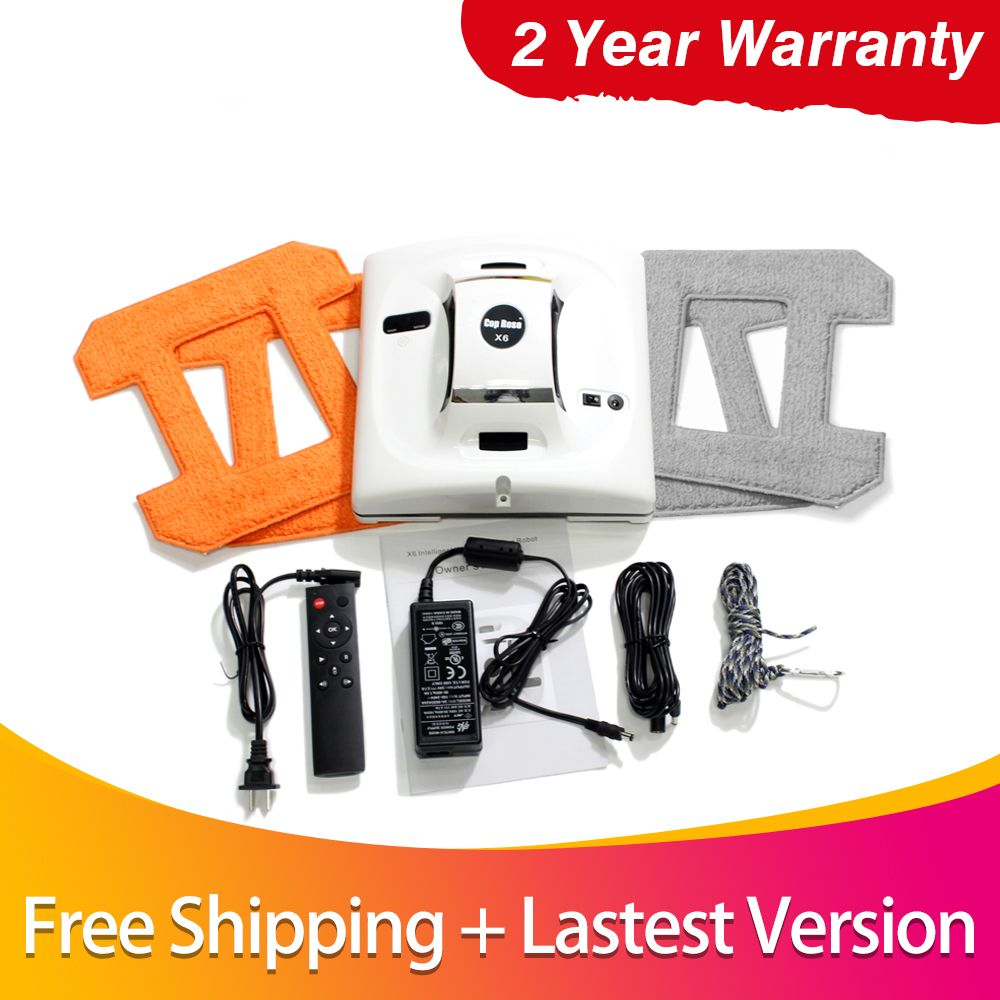Seamoy Window Cleaning Robot Wet and Dry Glass Cleaning With Remote Control,UPS Uninterruptible Protection