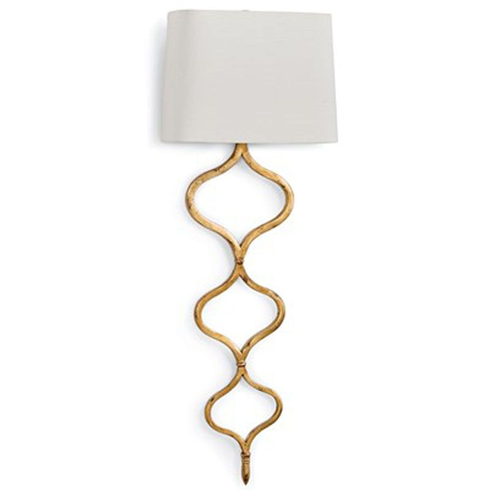 Contemporary style gold wall lights modern LED lamp Dia31*H85cm living room bedroom light
