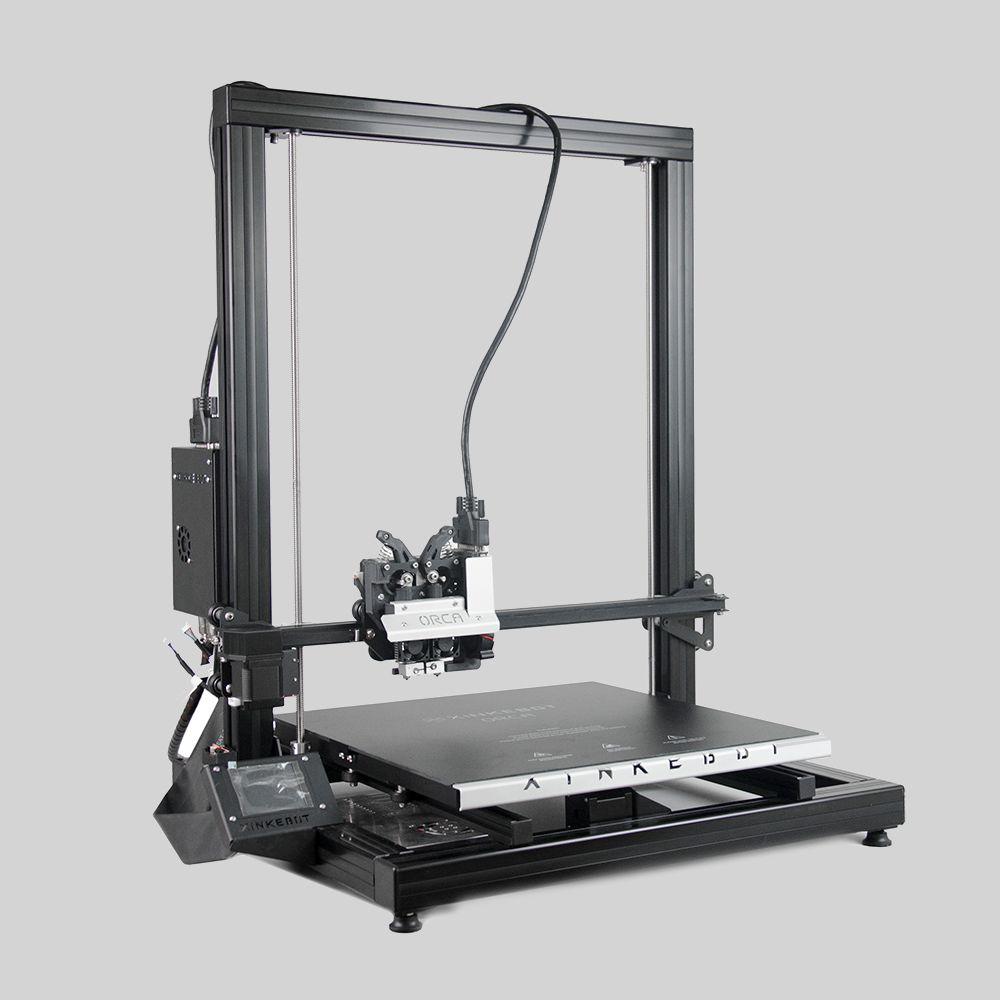 Xinkebot Orca 2 Cygnus Large 3D Printer 400x400x500mm Build Size Direct Drive Dual Head Aluminum Heat Bed Free Shipping
