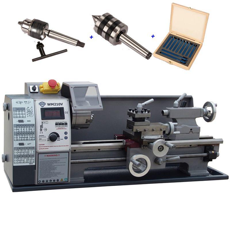 Mini Drehmaschine Maschine WM210V Kleine Haushalts Drehmaschine mit 600 watt Motor