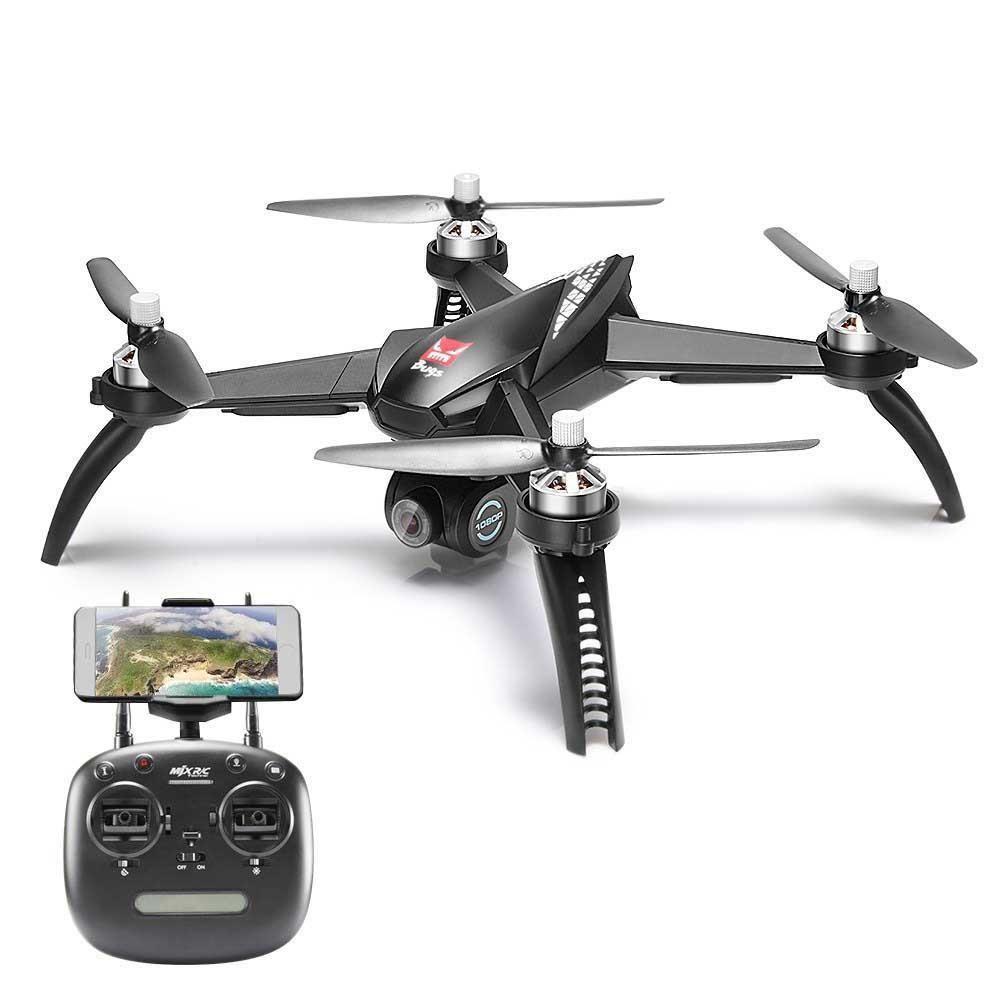 MJX Bugs 5 W B5W RC Drone RTF 5G WiFi FPV 1080P Camera With GPS Follow Me Mode RC Quadcopter vs MJX Bugs 2 B2W Helicopters D30
